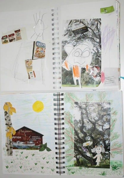Parent-Child Art Journals