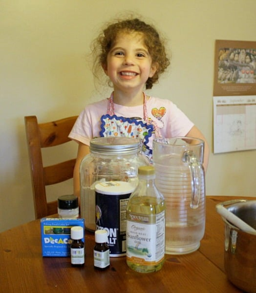 Ingredients for Homemade Play Dough Recipe