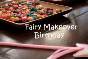 Fun Fairy Birthday Party!
