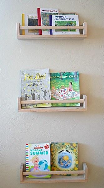 new concept d1ea6 93eeb Art Projects for Kids: Ikea Bookshelf from Spice Racks ...