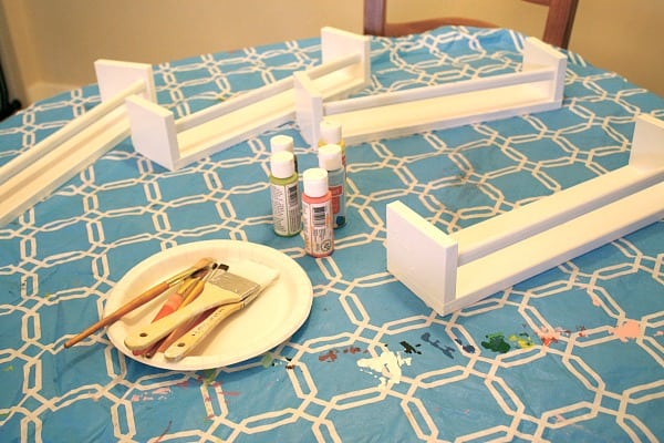 Art Projects For Kids: Ikea Bookshelf From Spice Racks