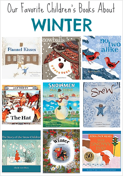 Winter themed children 39 s books for Art and craft books for kids