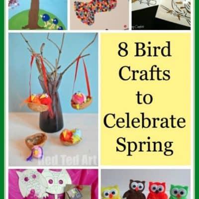 Bird Craft & Project Roundup