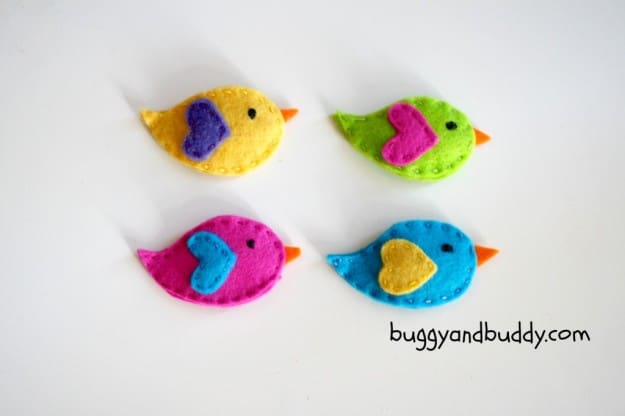 9 fun and creative bird crafts for spring for Birds project