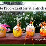Potato People Craft for St. Patrick's Day