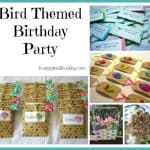 Bird Themed Birthday Party