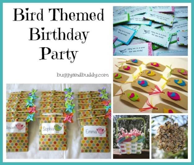 birdthemed birthday
