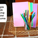 Encouraging Creativity in Writing with a Simple Book Making Center