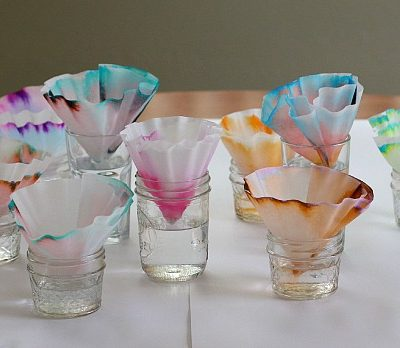 Science for Kids: Chromatography Butterfly Craft