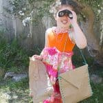 Paper Bag Crafts: Explorer Satchel and Map from Just One Paper Bag