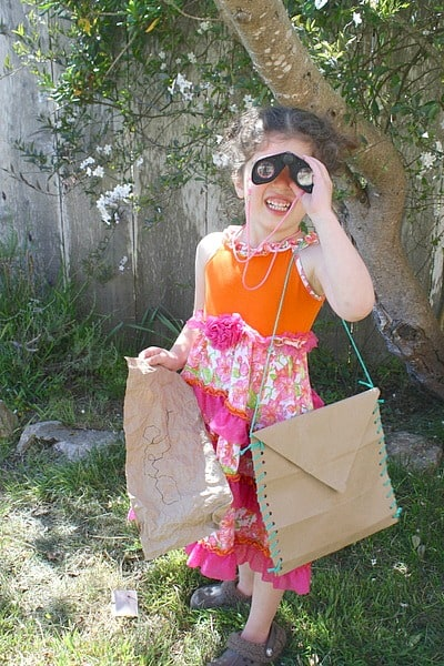 Paper Bag Crafts: Satchel and Map Craft for Kids