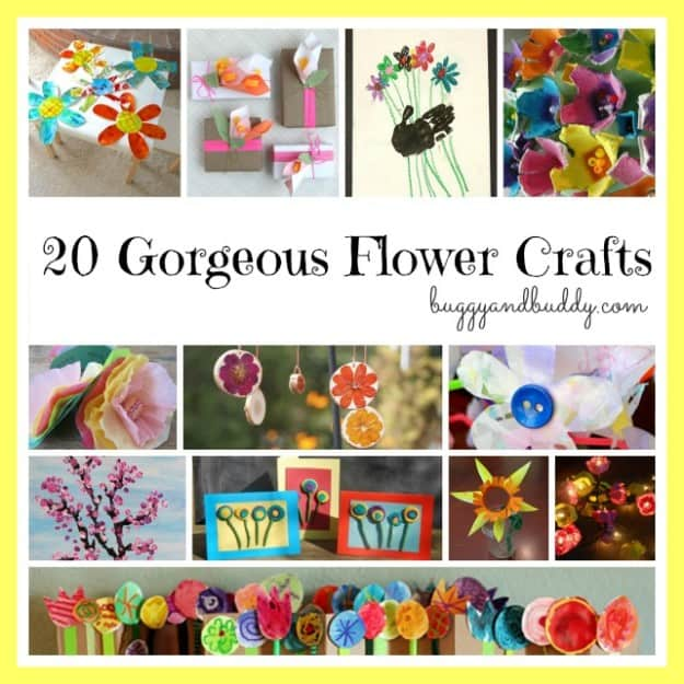flower craft roundup