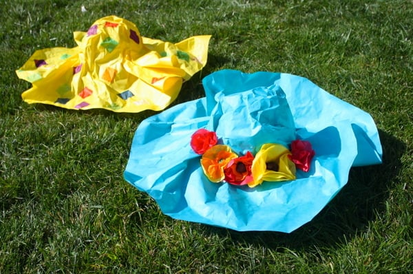 Paper Mache Hats~ Buggy and Buddy