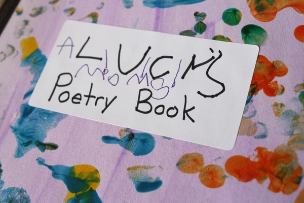 poetry book label