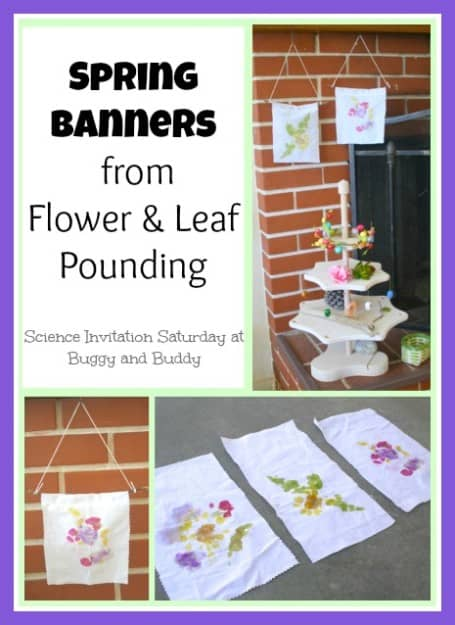 spring banner collage