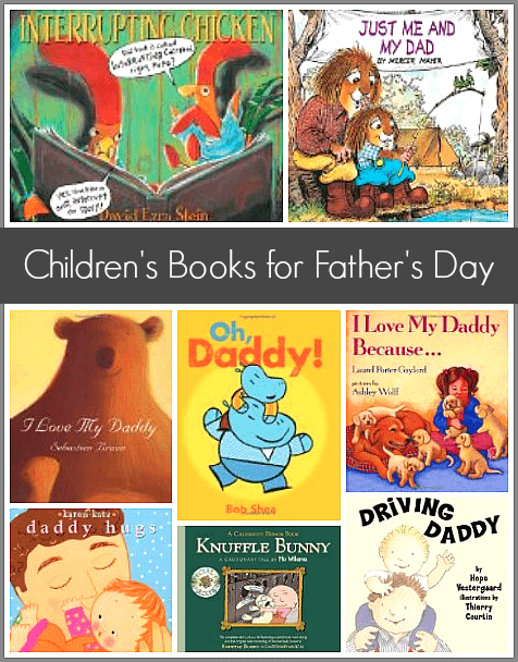 Children S Books List For Father S Day Buggy And Buddy