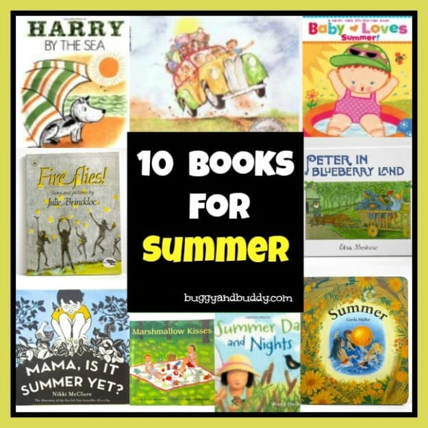 summer books for kids