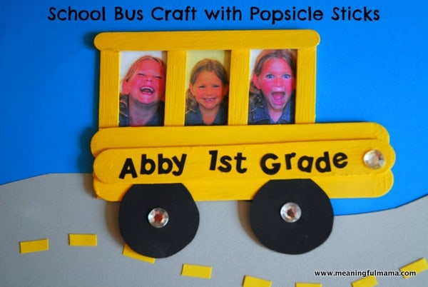 School Bus Craft