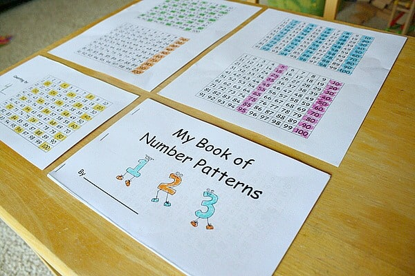Finding Number Patterns Using a Hundred Chart (with Free