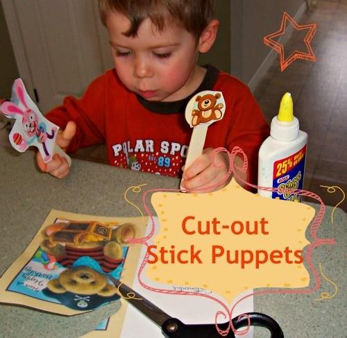 Stick-puppets