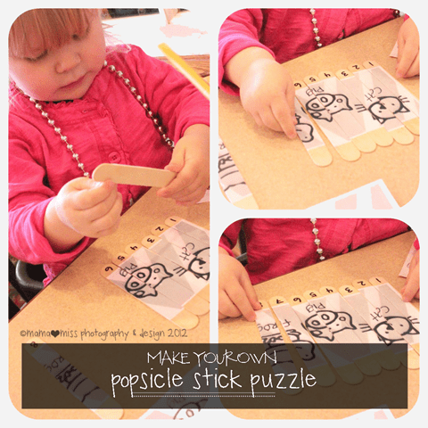 Learning playing crafts for kids using popsicle sticks buggy popsicle stick puzzle free printable from mama miss ccuart Image collections