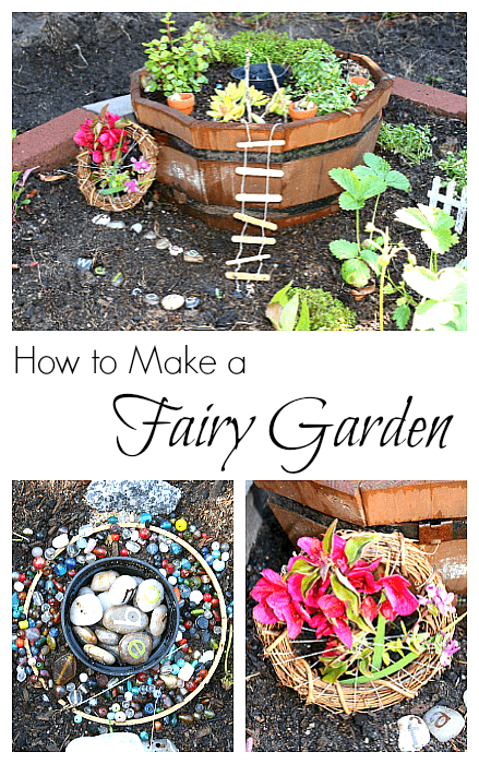 Our Fairy Garden - Buggy and Buddy