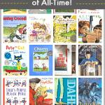 Teachers in Grades K-5 Choose Their Favorite Books of All-Time~ buggyandbuddy.com