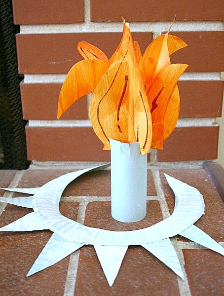 statue of liberty craft crafts for make a statue of liberty crown and torch 5492