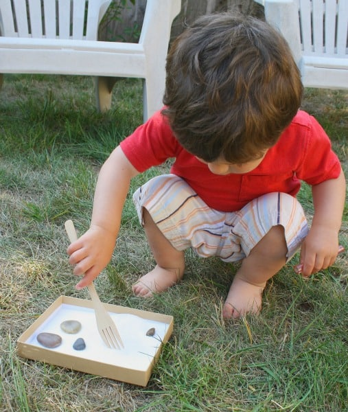 theo with mini salt tray