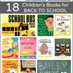 Help prepare your child for the new school year with these books! (18 Children's Books for Back to School)~ Buggy and Buddy