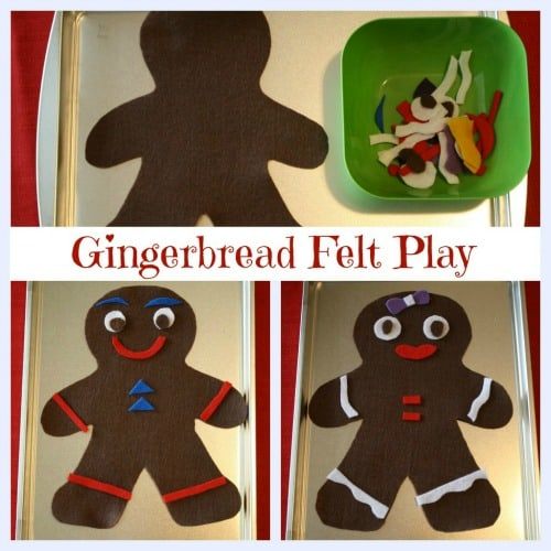 Gingerbread-Felt-Play