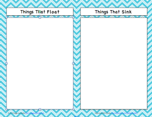 Printables Sink Or Float Worksheet science for kids sink or float with free printable buggy and screen shot 2013 07 18 at 7 19 52 pm