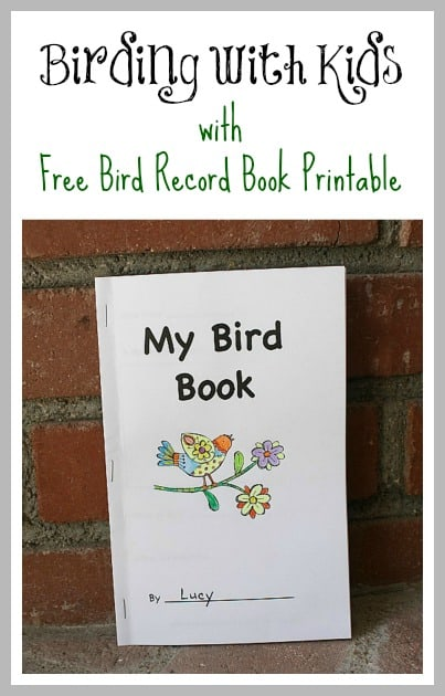 Science Book Cover Printable : Free printable bird book for birding with kids buggy and
