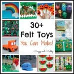 Homemade Toys & Learning Activities from Felt