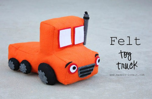 Homemade Toys Amp Learning Activities From Felt Buggy And