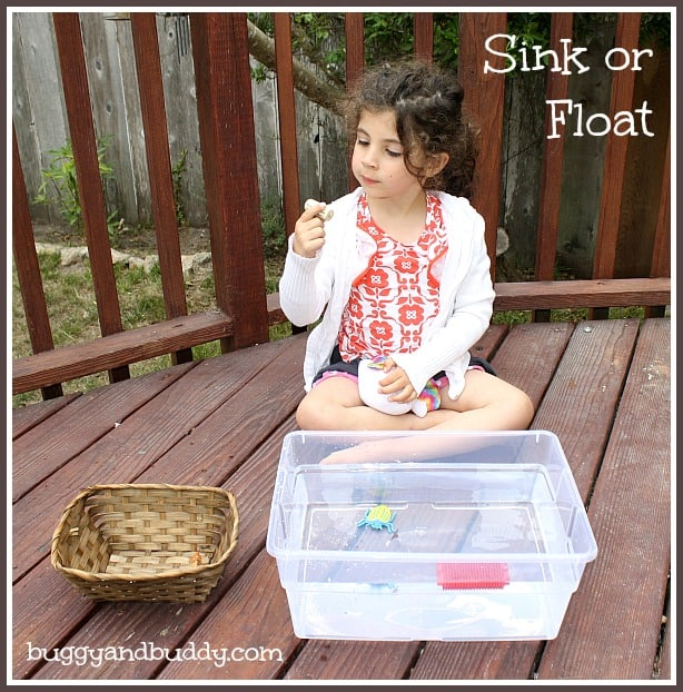 sink or float~ science for kids