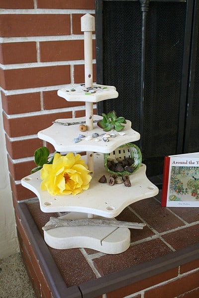 summer nature table