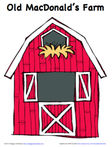 Peek A Boo Farm Animals Activity Free Printable Buggy