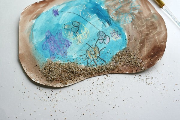 Tide Pool Art for Kids~ Buggy and Buddy