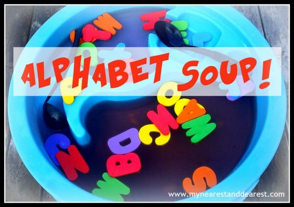 Alphabet Soup~ My Nearest and Dearest
