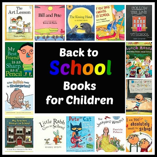 Back to School Books for Children~ Buggy and Buddy