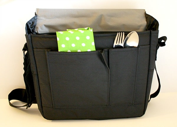 carrying case open