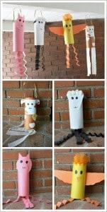 Farm Animal Crafts: Cow, Sheep, Pig, and Chicken Windsocks~ BuggyandBuddy.com