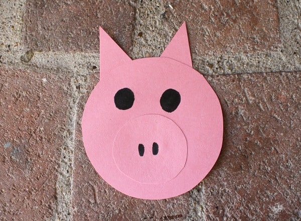 Farm Animal Craft: Pig Windsock~ Buggy and Buddy