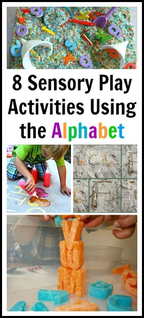 Sensory Play with the Alphabet~ Buggy and Buddy
