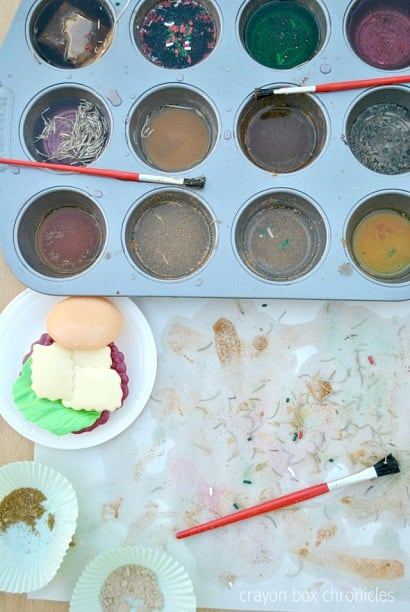 Homemade Scented Paints
