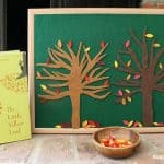 Felt Fall Tree Play Set Inspired by The Little Yellow Leaf