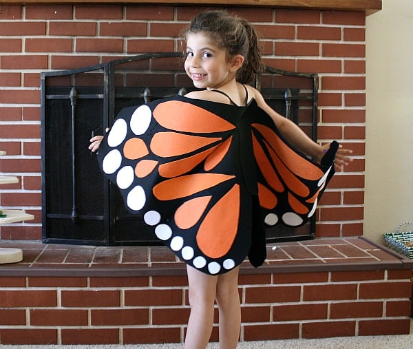 Felt Monarch Butterfly Wings Tutorial~ Buggy and Buddy