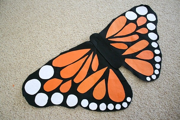 Felt Monarch Butterfly Wing Tutorial~ Buggy and Buddy