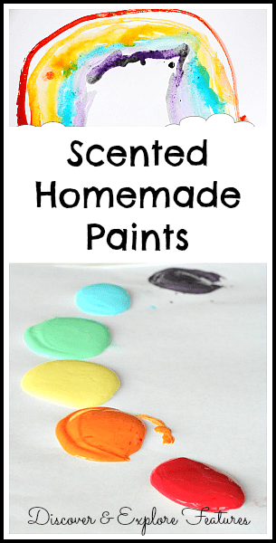 Scented Homemade Paints